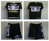 Image of 2011 Team MDM Tees and Fight Shorts