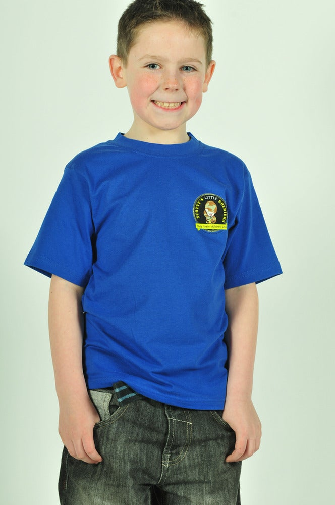 Image of Kids T-Shirt- Royal Blue - Reduced to clear