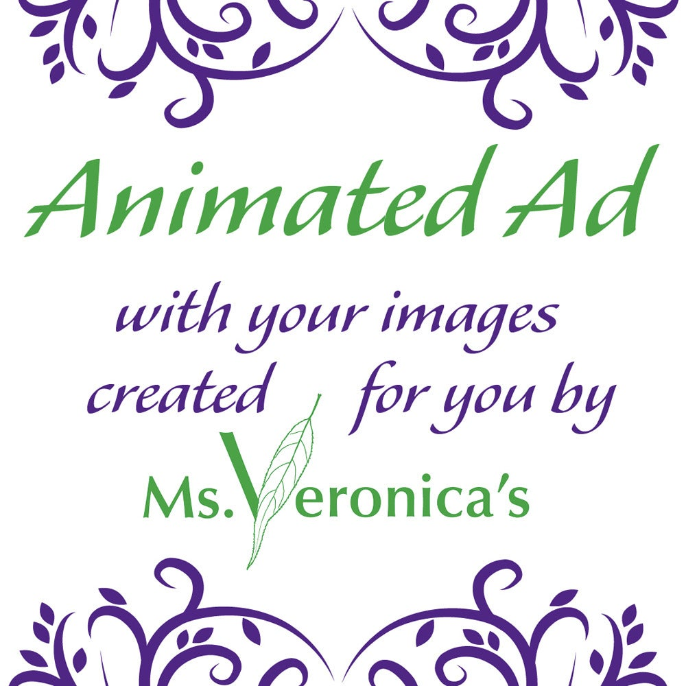 Ms. Veronica\'s — Animated Blog Ad Design Show Multiple Products - 3 ...