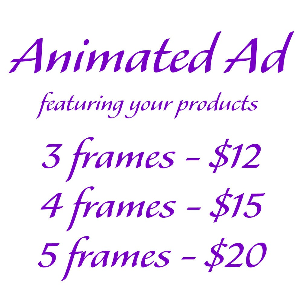 Ms. Veronica\'s — Animated Blog Ad Show Multiple Products - 4 frames