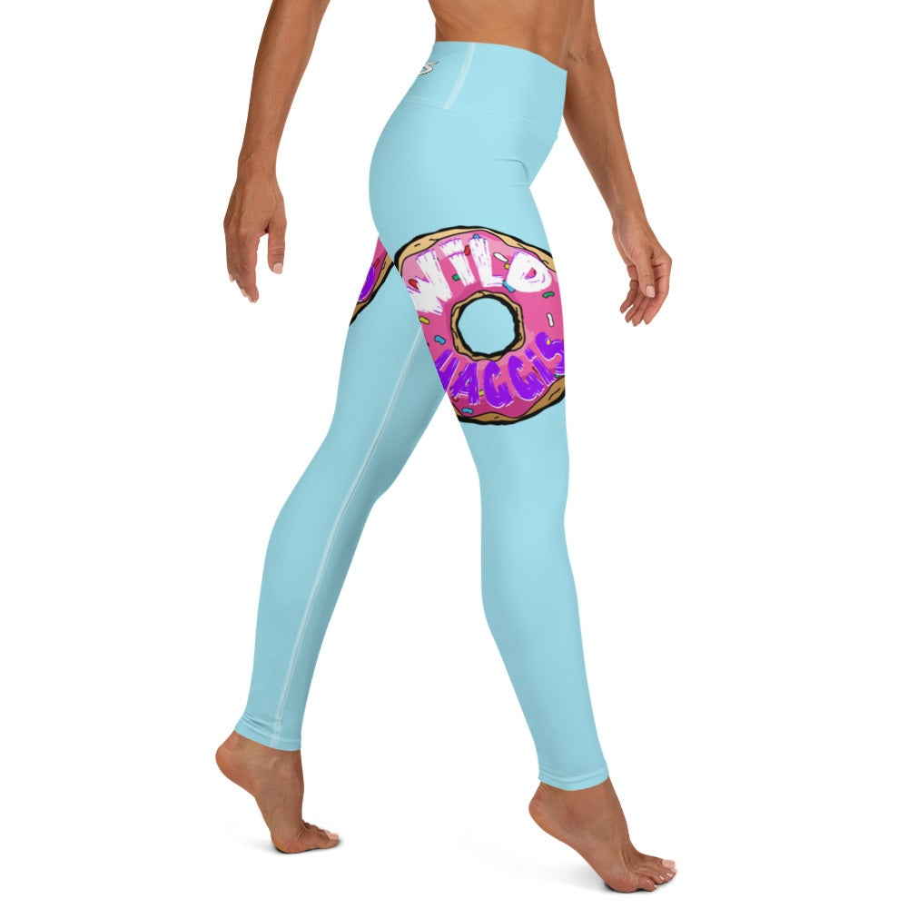 """""""All The Donuts In The World"""" Yoga Leggings"""