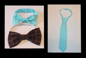 Image of Little Man's Tie and Bow Tie Patterns