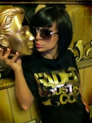 """Image of """"NEW"""" Faded Industry Gold Foil Tshirt"""