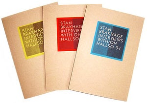 Image of Interviews with/on Stan Brakhage (HALL04)