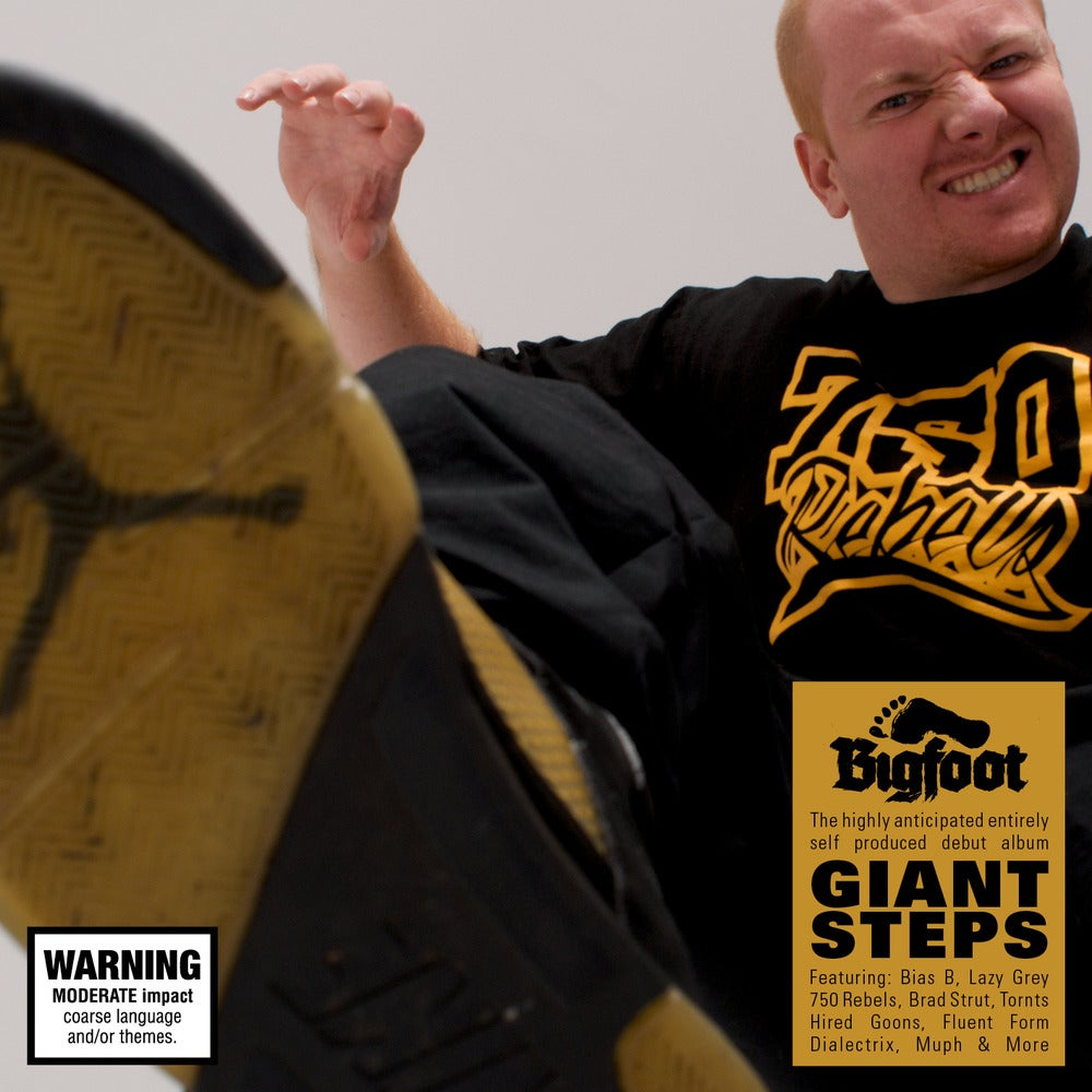 "Image of BIGFOOT ""Giant Steps"" CD"