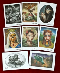 Image of Set of 8 Post Cards