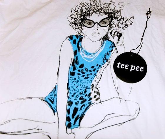 Image of Leopard Deep V Neck