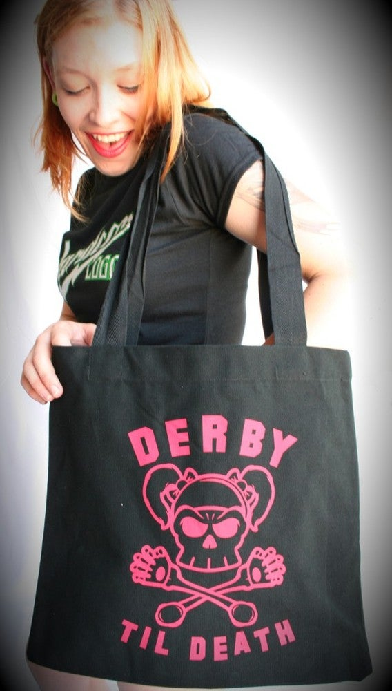 Image of Derby Til Death - Tote Bag
