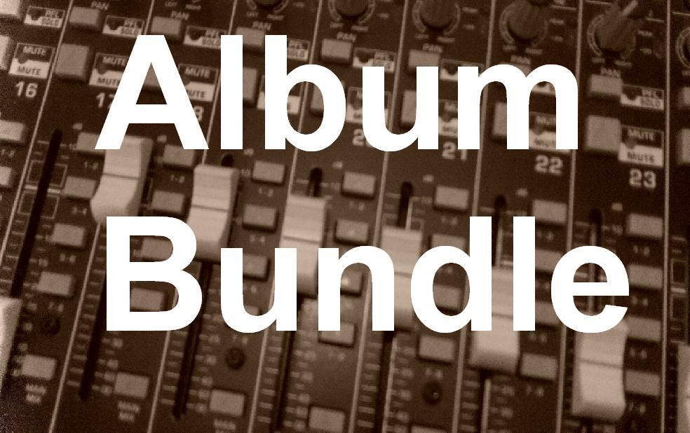 Image of Album/EP mix bundle (pricing deals from £100)