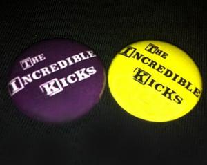 Image of The Incredible Kicks - Badges (Logo)