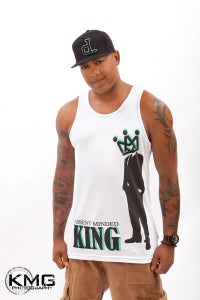 Image of Absent Minded King Tank Top