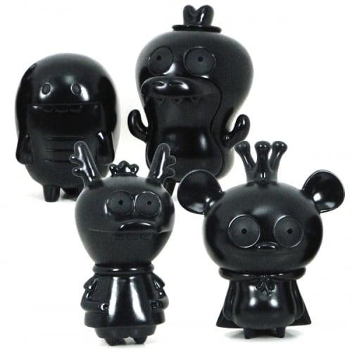 Image of Bossy Bear & Friends 4 pc Set - LTD Black Edition