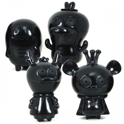 Image of Bossy Bear & Friends 4 pc Set - LTD Black Edition