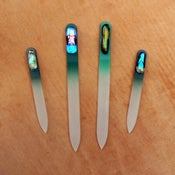 Image of Czech Crystal Nail File - olive