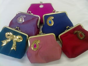 Image of Precious silk purse