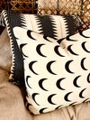 Moons pillow cover