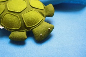 Image of Plush Baby Turtle / Jewels