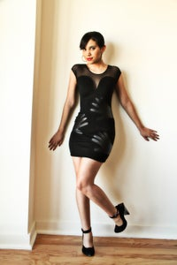 Image of Hold Me Tight Dimepiece Dress-SOLD!