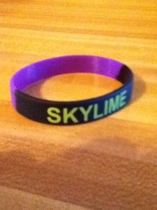 Image of Skylime Wristband!