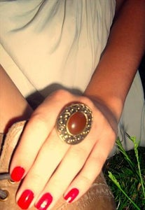 Image of Brown Adjustable Ring