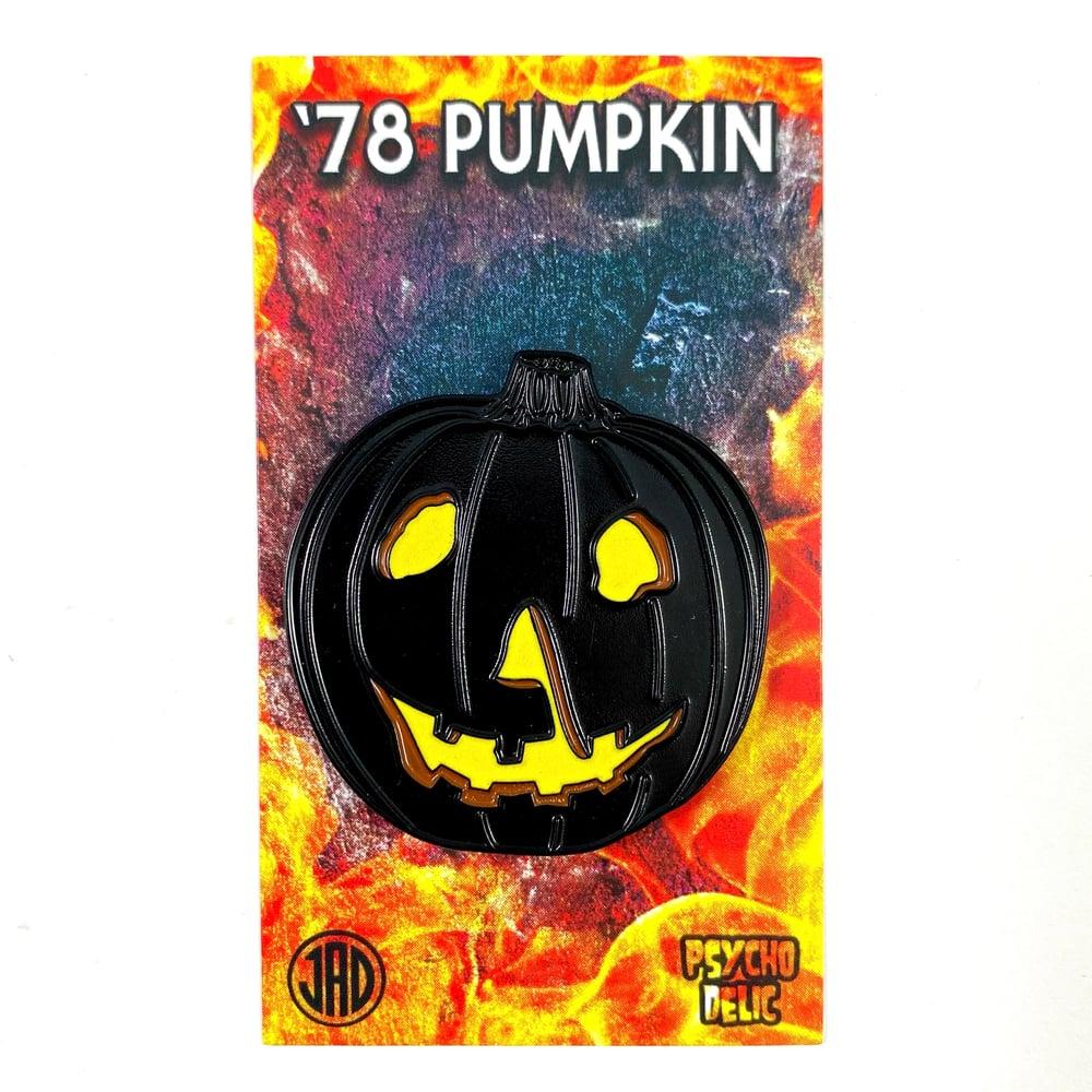 '78 Pumpkin Glow Edition (Enamel Pin)