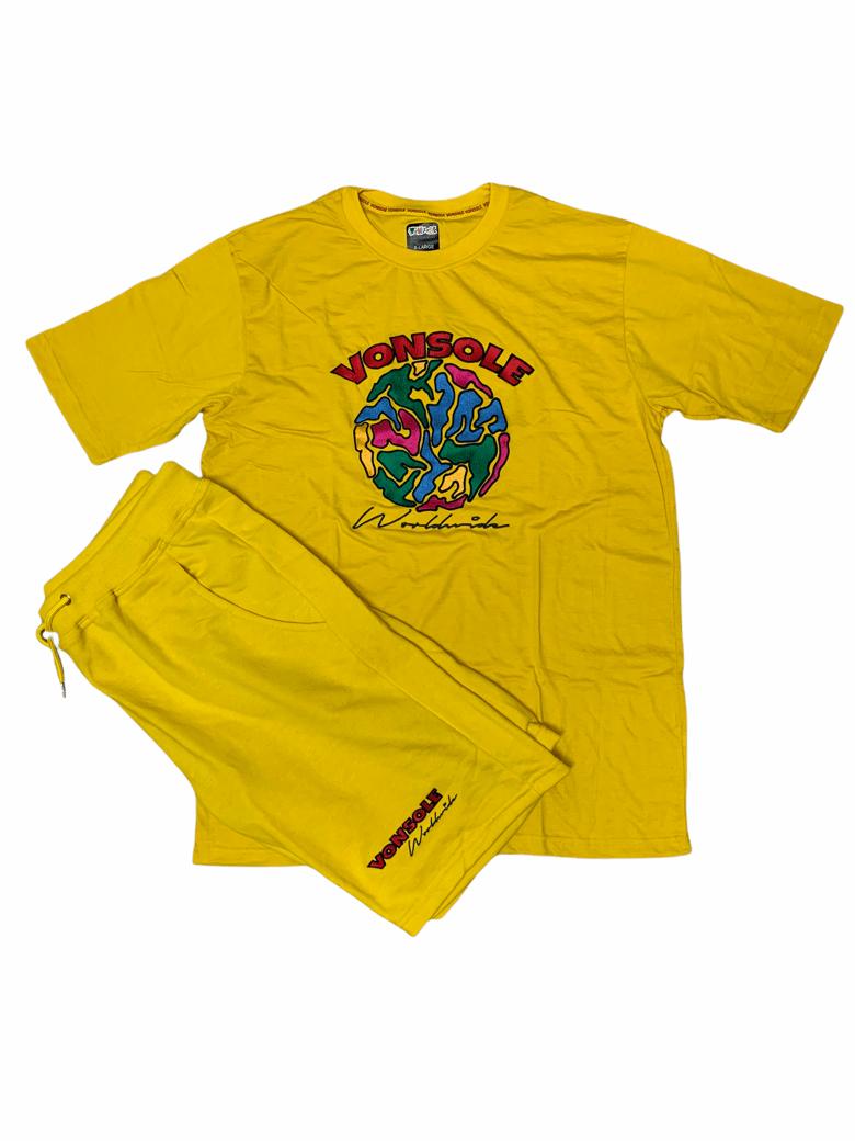 Image of VS Global Short Set (Yellow)