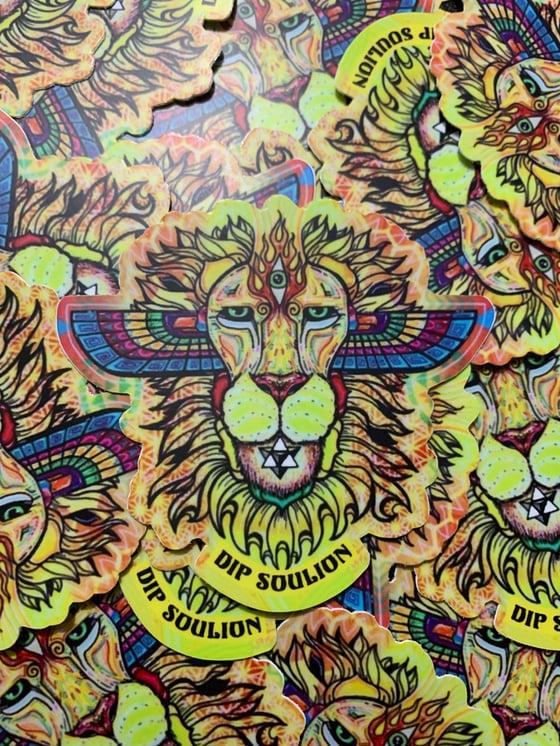 Image of Awakened Lion stickers