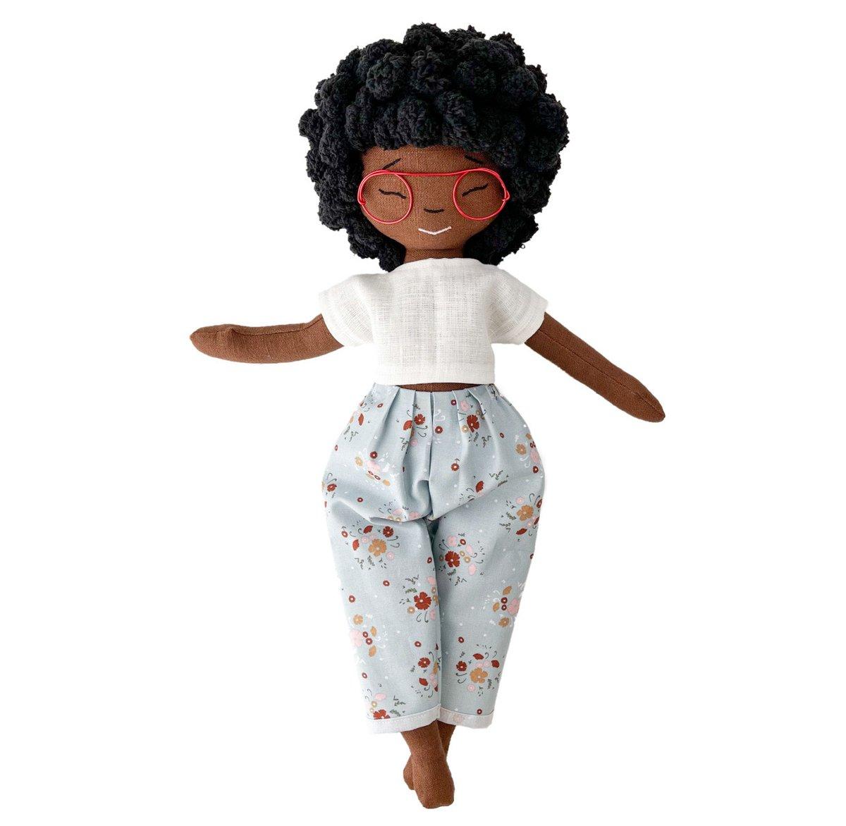 Mya More to Love Handmade Linen Doll(Waitlist Preorder Item-ship date Oct 1-Mar 30,2022)