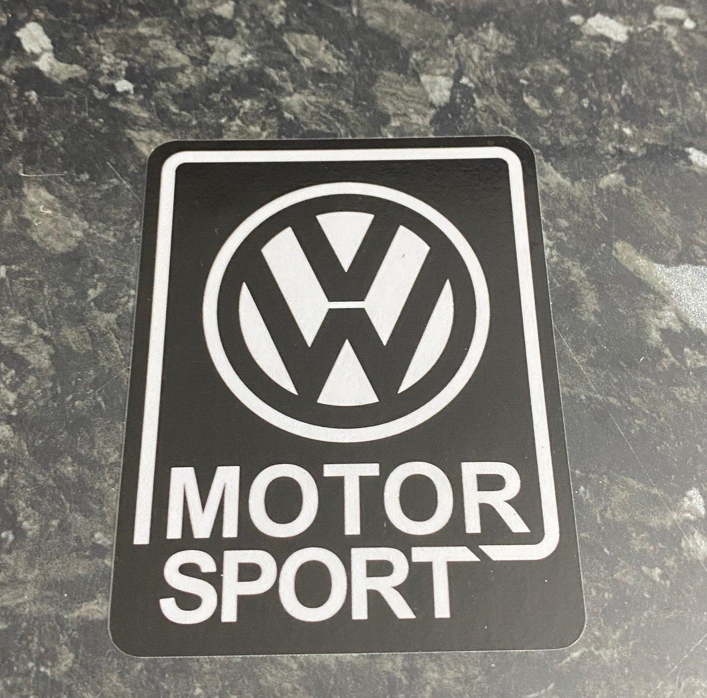 Image of VW MOTORSPORT