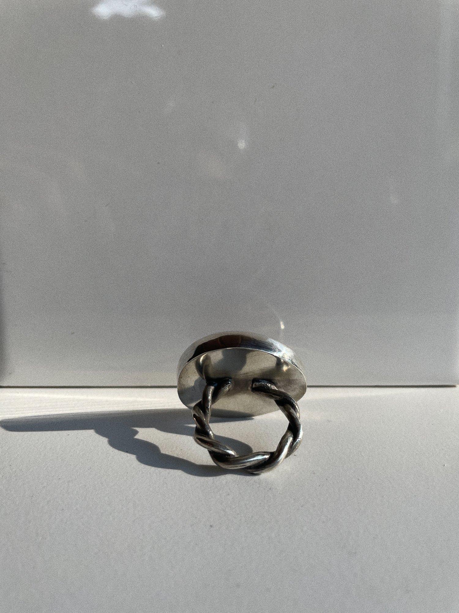 Image of Red Jasper Lasso Ring