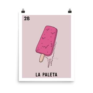 Image of La Paleta Print