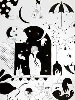 """""""Un été oublié dans le jardin"""", 2021"""