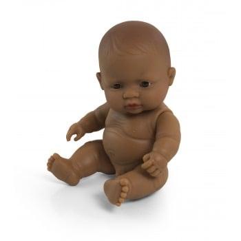Image of Miniland Doll - Baby Latin American Boy, 21cm (undressed) Copy