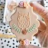 Owl - Raised Embosser