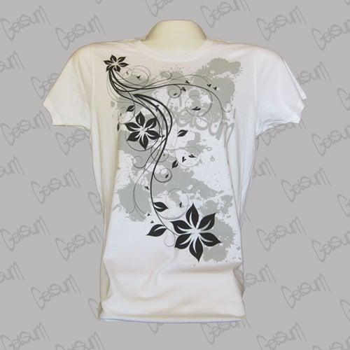 Image of Girls 3Flowers Shirt