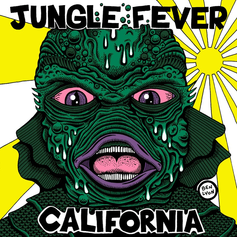 "Image of Jungle Fever ""California"" 7"""
