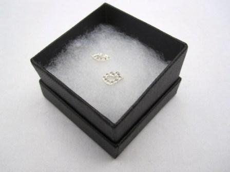 Image of Sterling Silver Lips Stud Earrings