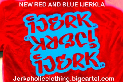 Image of New RED AND BLUE IJERKLA  NICE