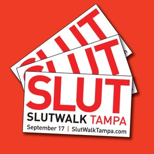 Image of SLUT Stickers! (2 for $4)
