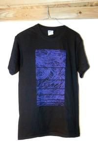 Image of YVETTE Wave Hair Design T-Shirt