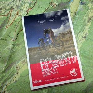 Image of NEW! Bruno's Trail Map - the original high detailed bike map