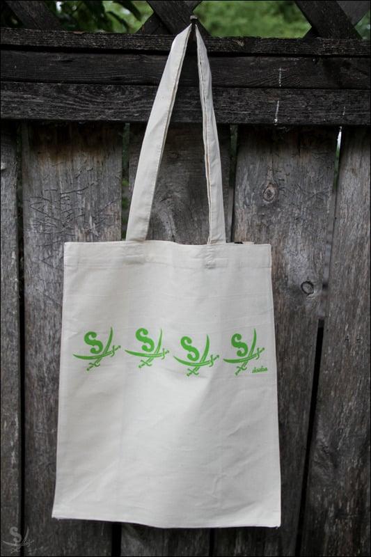 Image of Green Book Bag
