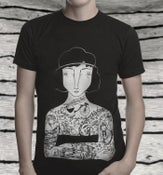 Image of Tattooed Lady Tee