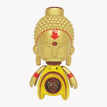 "Image of 5.5"" Asia MiniGod designer Toy + Speaker"