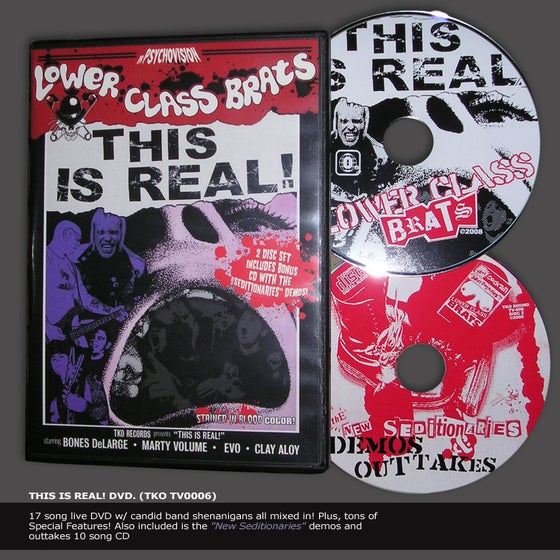 Image of THIS IS REAL! DVD (+ Bonus CD)