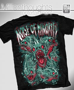 Image of Noise Of Minority - Piranha Shirt