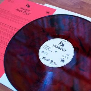 "Image of DWG009 - Tragedy 'Black Rage Demos' 12"" E.P. (red)"