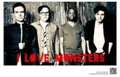 Image of I Love Monsters Poster