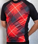 Image of ARTIST DESIGNED CYCLING JERSEY BY KELLY MUNSON