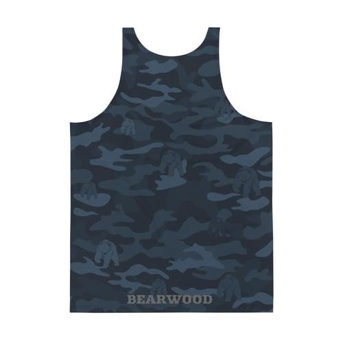 Image of Blue Camo Tank Top